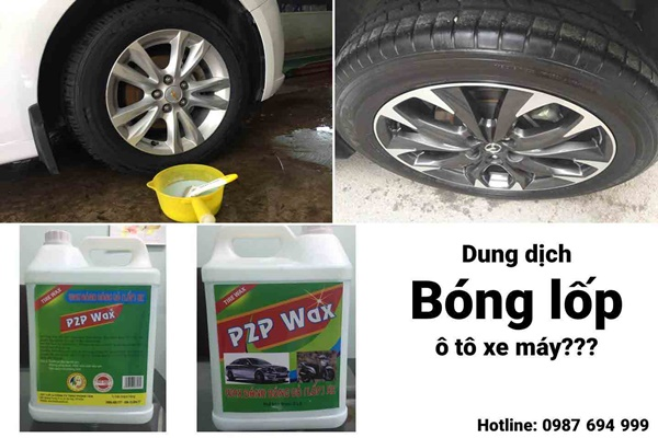 dung dich bong lop o to