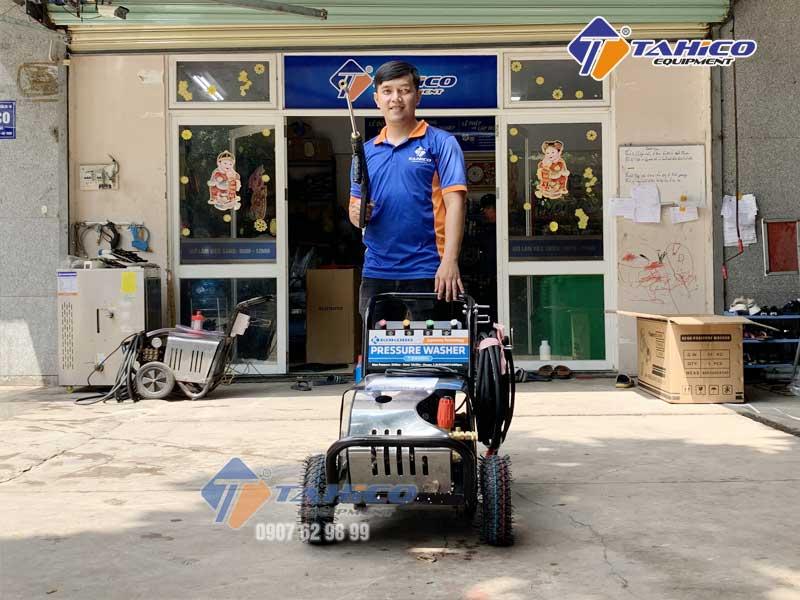 TAHICO cung cấp trọn bộ các thiết bị phục vụ rửa xe