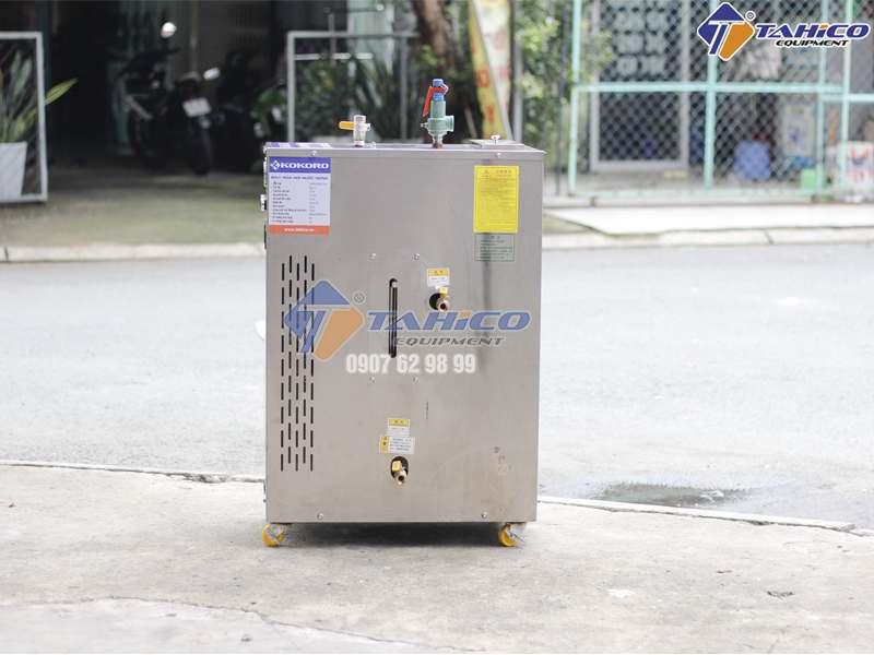 Máy phun hơi nước nóng hiệu quả nhưng giá thành hơi cao