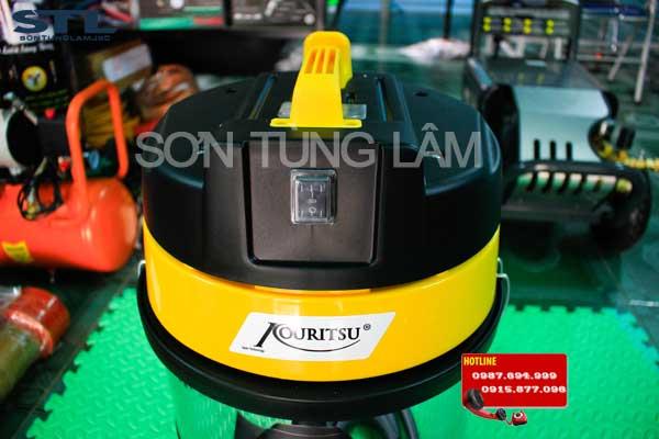 may hut bui cong nghiep kouritsu zd10 dung tich 30l