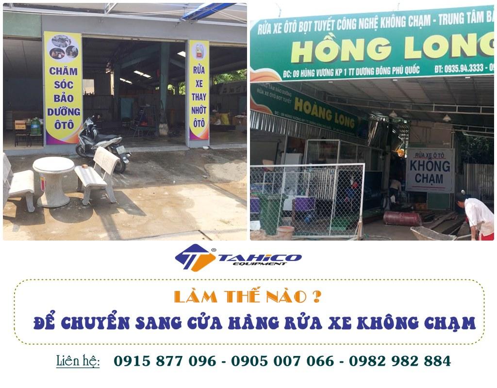 huong dan chuyen doi sang cua hang rua xe khong cham
