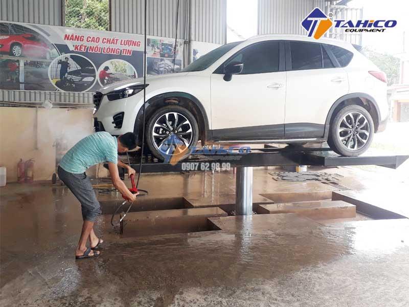 Bảng giá cầu nâng 1 trụ rửa xe ô tô