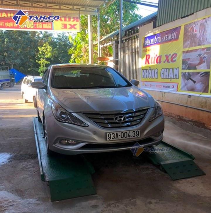 Công nghệ rửa xe không chạm trở thành xu hướng mới trong lĩnh vực rửa xe