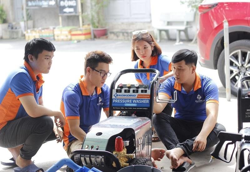 Dòng máy rửa xe ô tô Kokoro khá được ưa chuộng