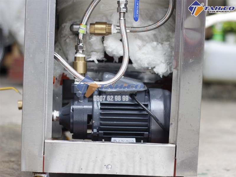 Cơ chế gia nhiệt nhanh và an toàn
