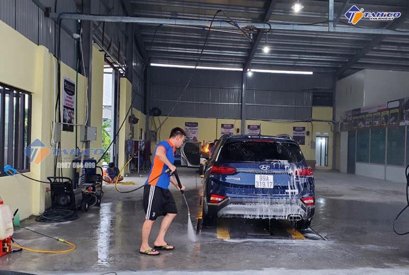 Công nghệ rửa xe mới đang ngày càng phát triển